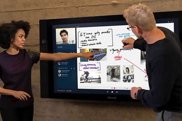 Microsoft Surface Hub in Auckland, Wellington and Christchurch Offices